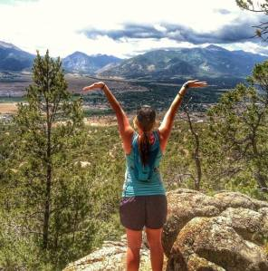 Feeling free. Buena Vista, Colorado. June 13, 2014 (Photo Credit: Janessa Bradley)