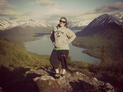 On top of Slaughter Ridge. Cooper Landing, Alaska. June 15, 2012 (Photo Credit: Janessa Bradley)