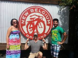 Visiting New Belgium Brewery during my short Denver stint! Ft. Collings, CO. (Photo Credit: Lance Littleton)