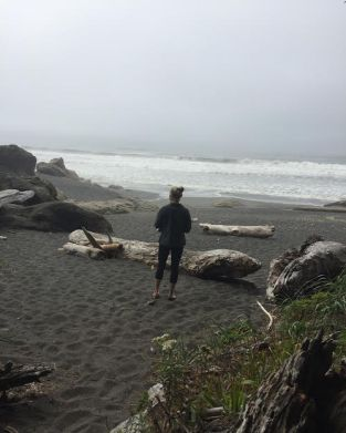 """About 20 minutes before I proposed. I told her I was trying to take my shoes off, but I think she knew my plan."" Kalaloch Beach No. 3; Kalaloch, WA (Photo Credit: Ryan Magnuson)"