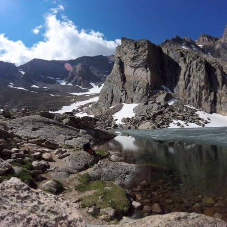 Chasm Lake; Rocky Mountain National Park (Photo Credit: Trey Williams)