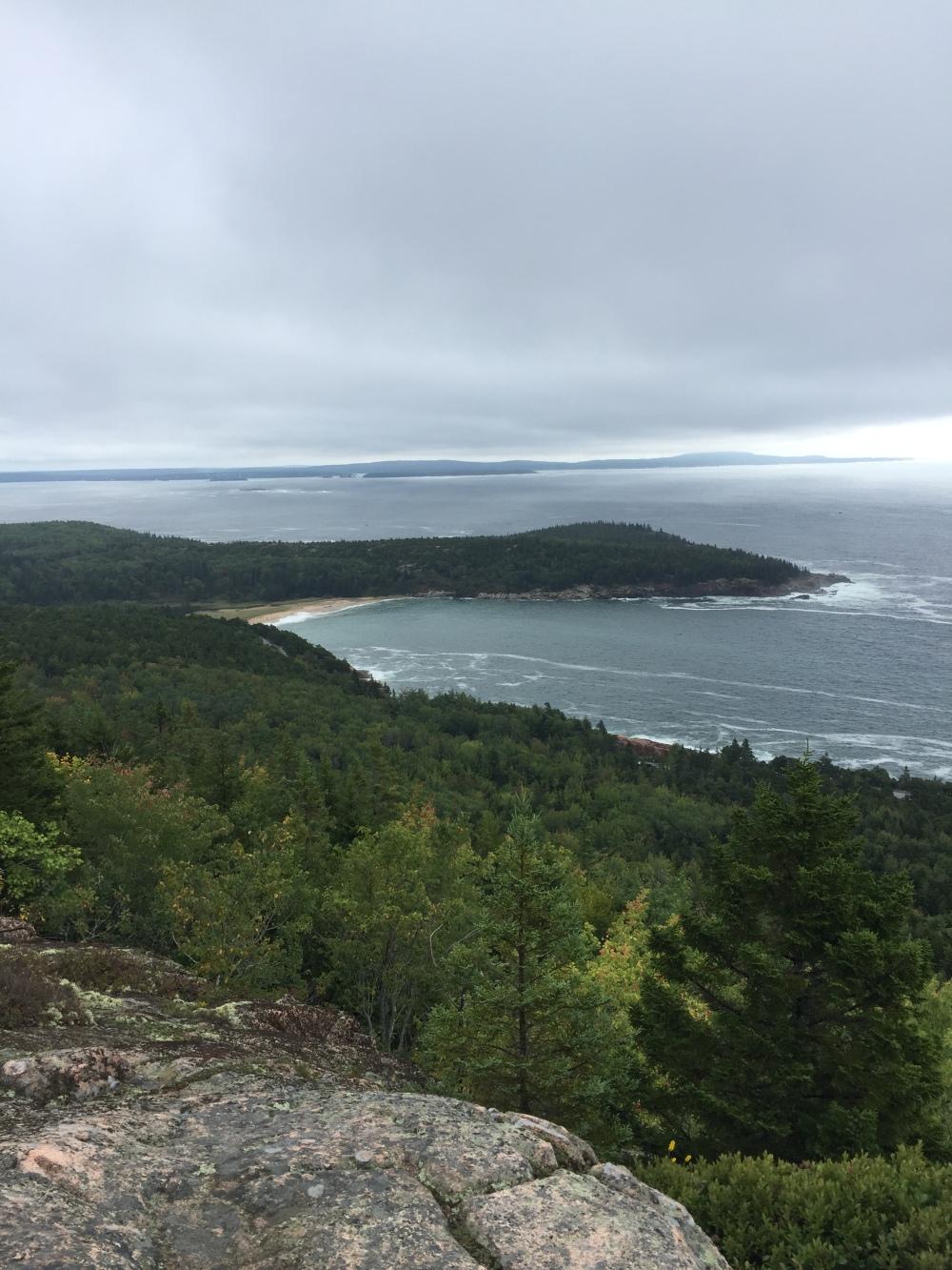 Climb Acadia Pic